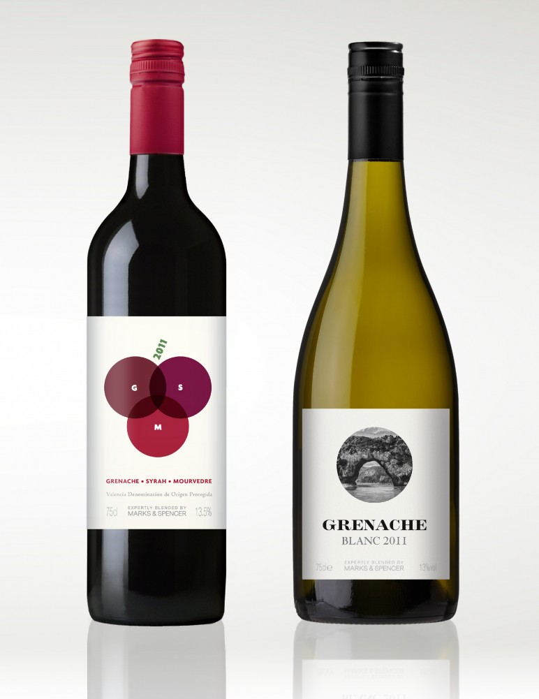 MS Wine Label Designs By Gingerbread Lady