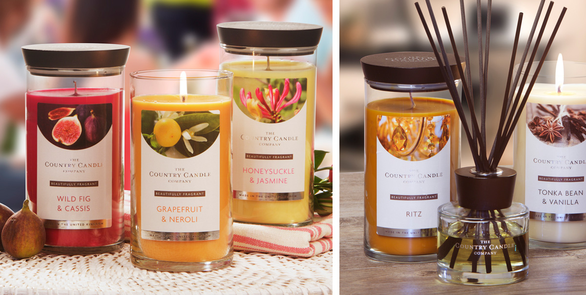 Country Candle Company packaging