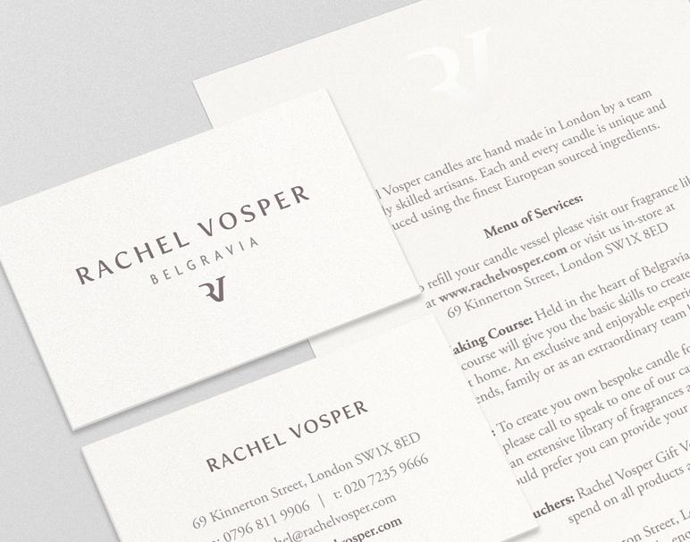 Rachel Vosper branding