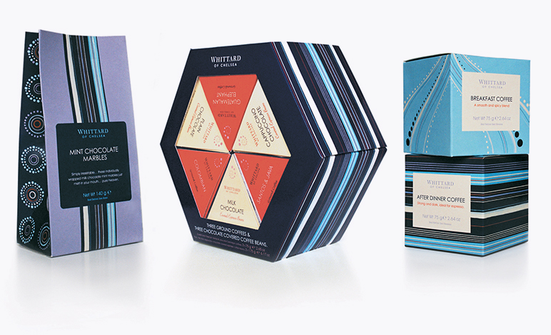 Whittard of Chelsea packaging